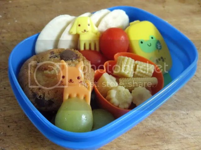 toddler bento - lots of yummy things!