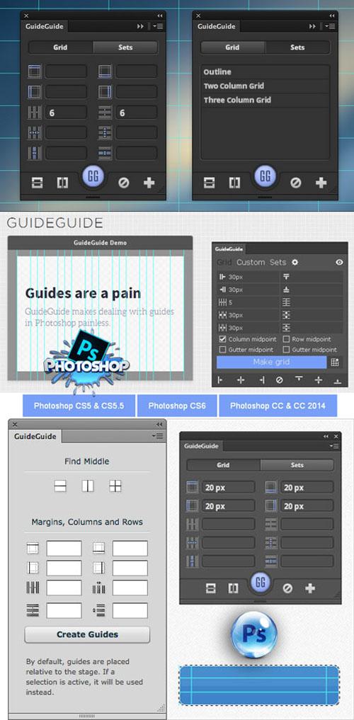 GuideGuide 4.7.1 Plugin for Photoshop (Win / Mac)