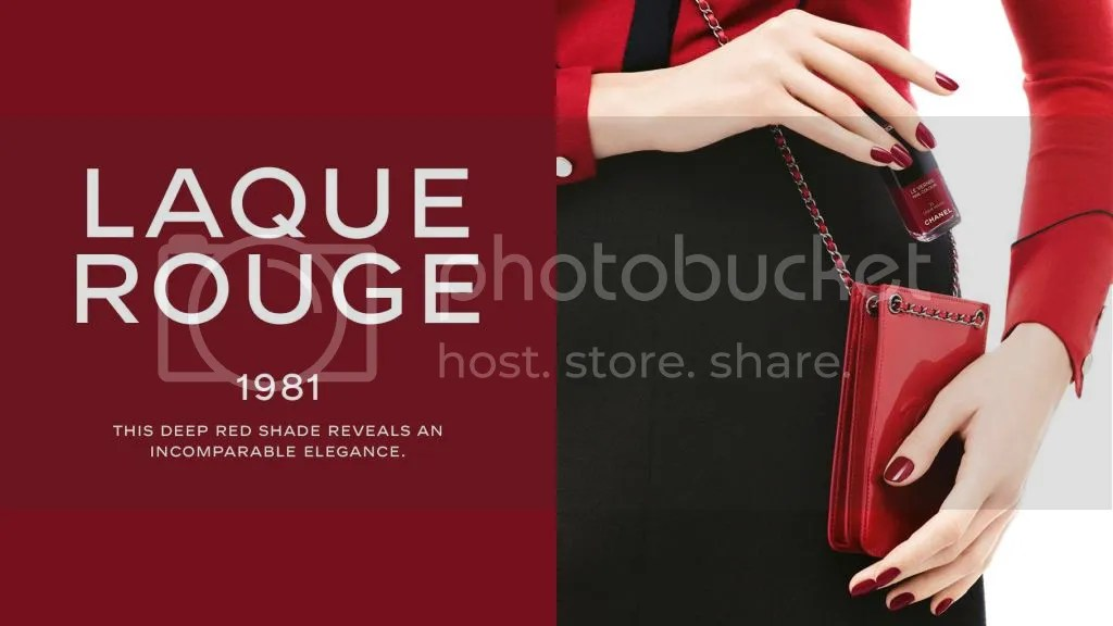 Chanel - Le Vernis Nail Colour - Laque Rouge promotional image