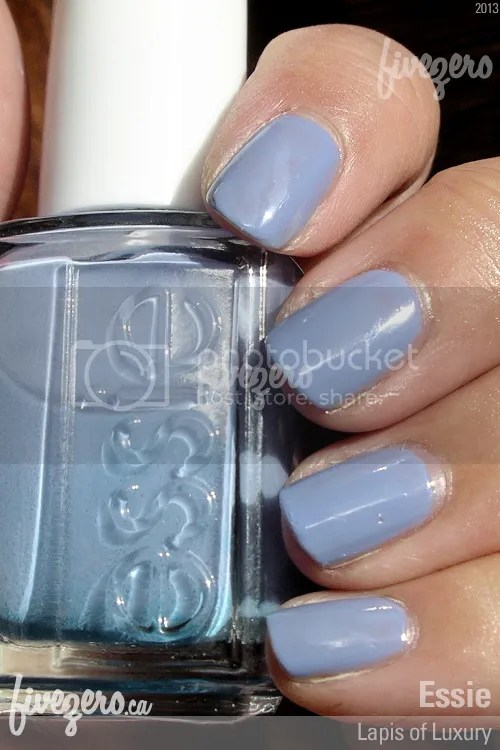 Essie Nail Polish in Lapis of Luxury, swatch