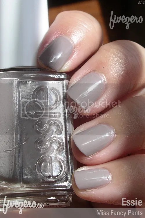 Essie Nail Polish in Miss Fancy Pants, swatch