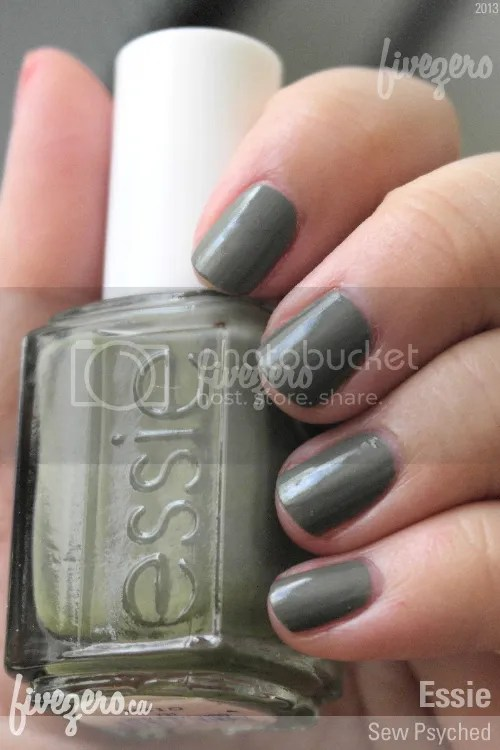 Essie Nail Polish in Sew Psyched, swatch