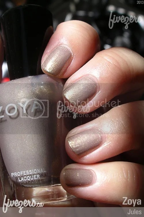 Zoya Professional Lacquer in Jules, swatch
