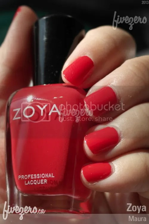 Zoya Professional Lacquer in Maura, swatch