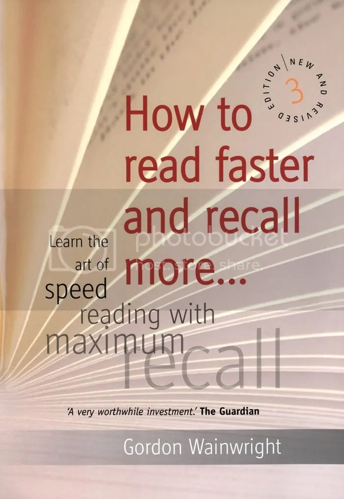 How to read faster and recall more