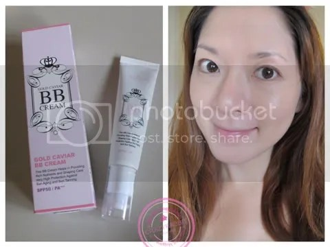 Review & Mini How to :: Bisous Bisous Gold Caviar BB, Berry Picnic Blusher, Lovely lady Lip Gloss (3/6)