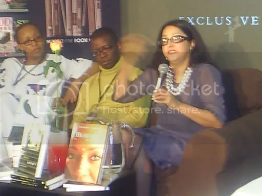 Discussion panel at the launch