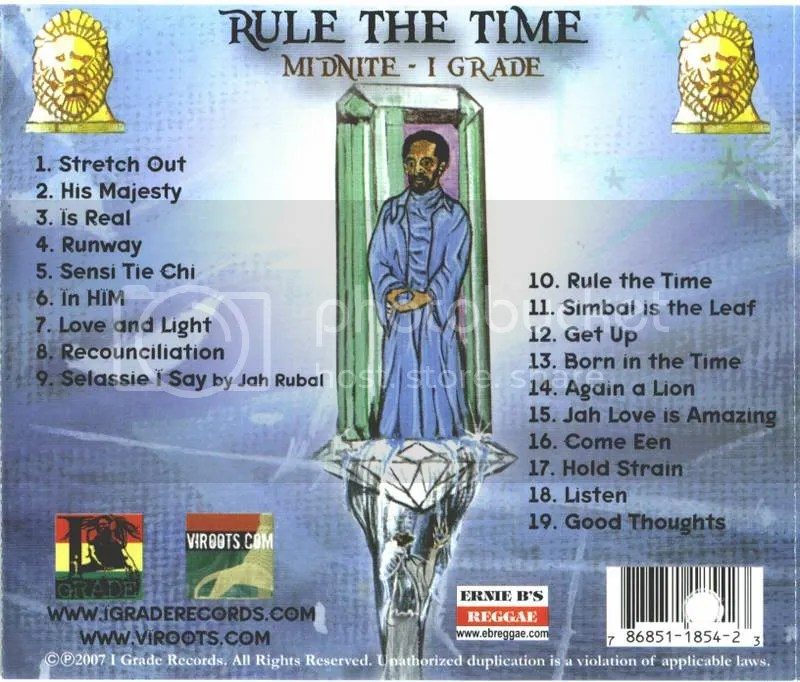 Rule the Time tracklist+infos