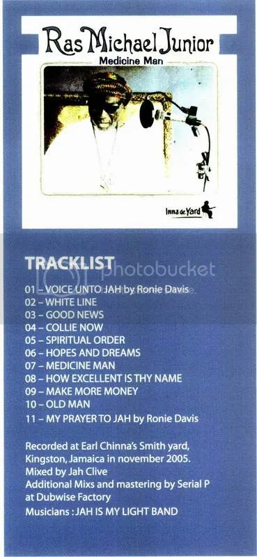 Medicine Man tracklist