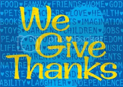 We Give Thanks Pictures, Images and Photos