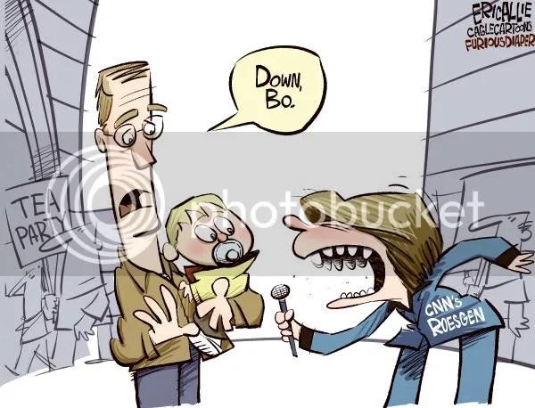 Obamas Attack Dog, Bo, Works for CNN