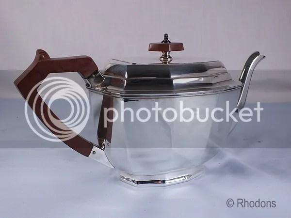 Silver Set Epns Plated Tea