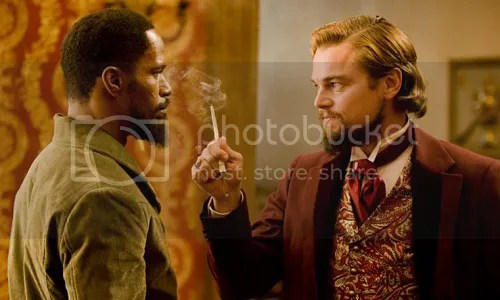 Django Unchained DiCaprio Foxx