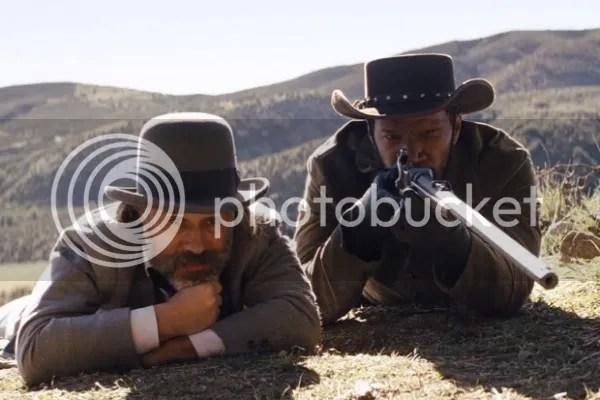 Django Unchained Jamie Foxx Christoph Waltz