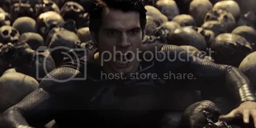 man of steel superman skulls
