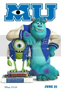 monsters university locandina