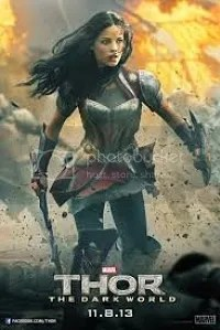 thor the dark world locandina lady sif