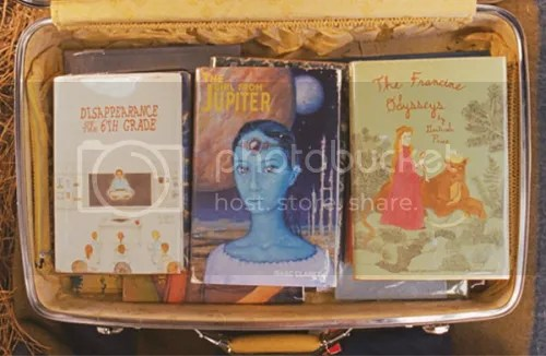 Moonrise Kingdom book jackets