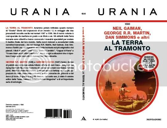 la terra del tramonto cover Urania 1590