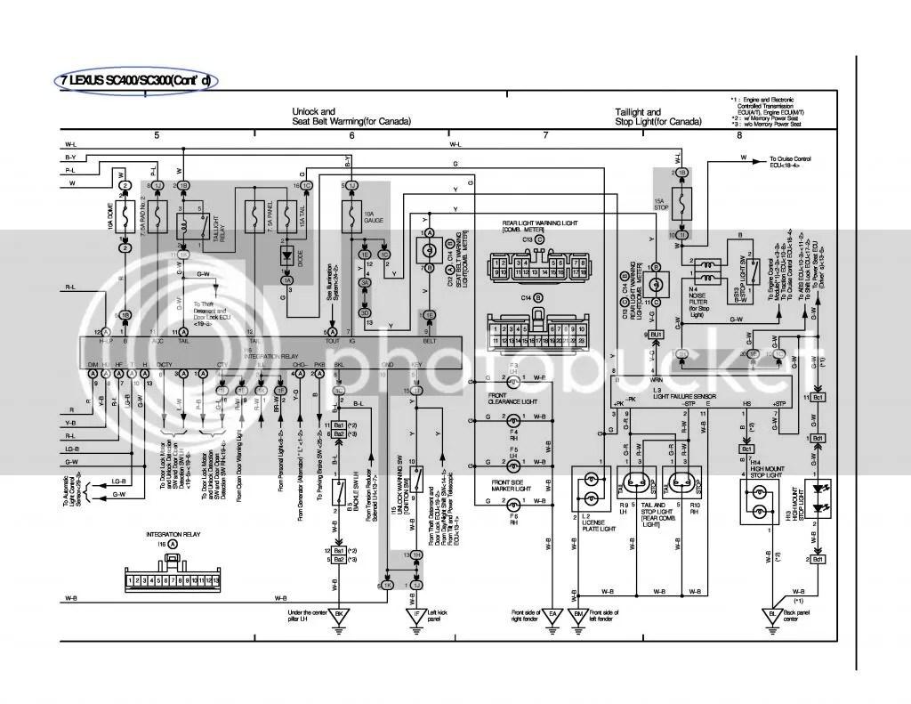 Lexus Soarer Wiring Diagram