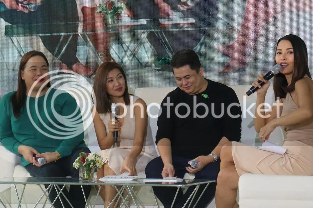 Darla Sauler and Kris Aquino