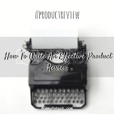 How To Write An Effective Product Review