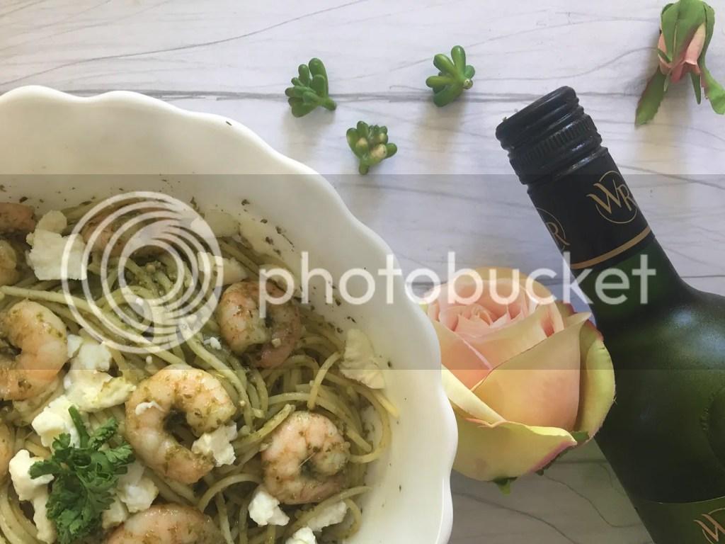 Shrimp And Pesto Pasta Recipe Using Contadina Products