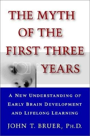 the myth of the first three years