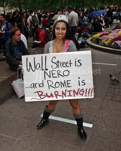 Occupy Wall Street hottie