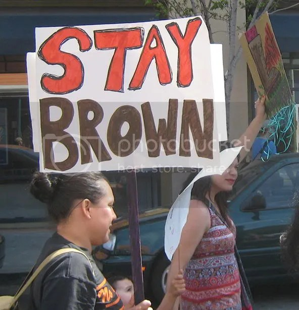 Stay brown