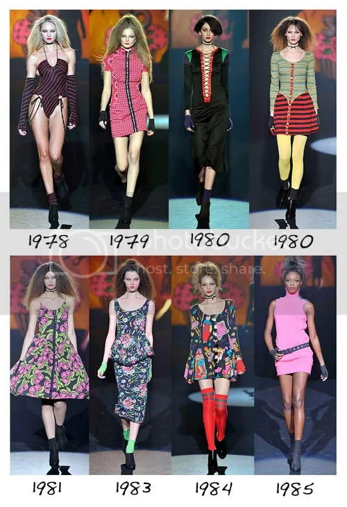 Betsey Johnson through the years