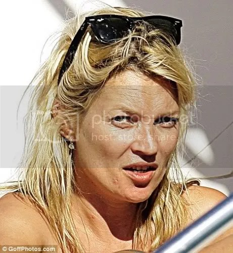 Kate Moss no make up