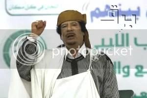 gadhafi fashionista