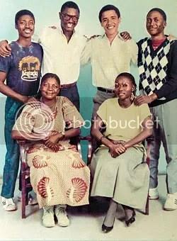 Obama half-family family