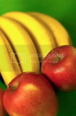 Apples & Bananas Pictures, Images and Photos