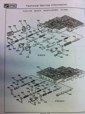 94 4L60E Valve body diagram  LS1TECH  Camaro and Firebird Forum Discussion