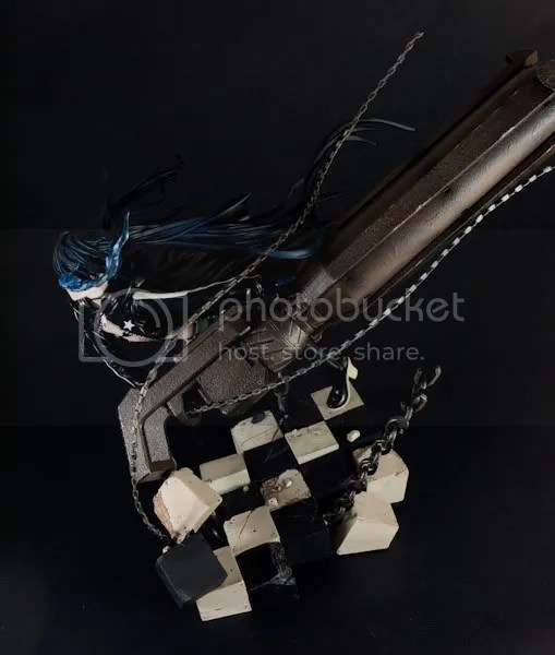 Black Rock Shooter top down shot