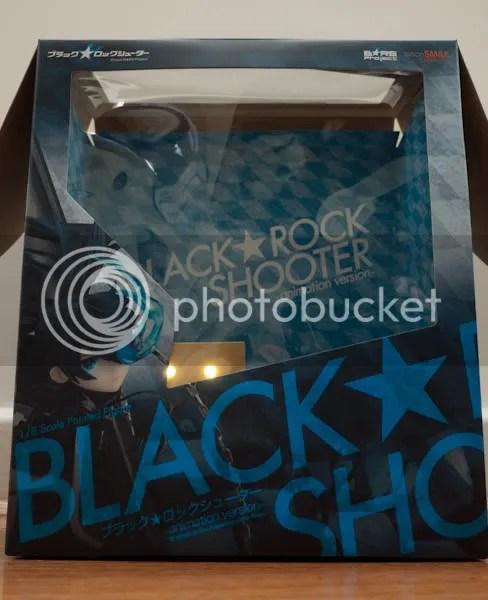 Black Rock Shooter's giant box