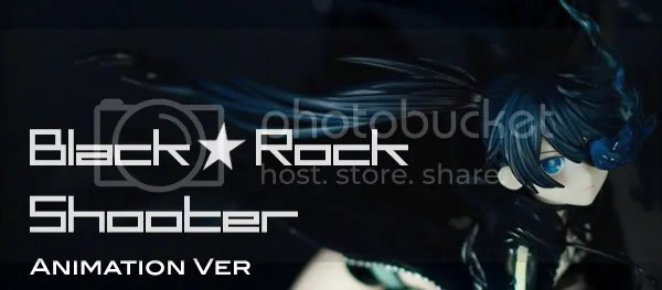 Black Rock Shooter Title