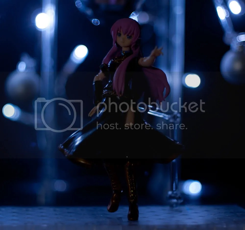 Luka steps out on stage