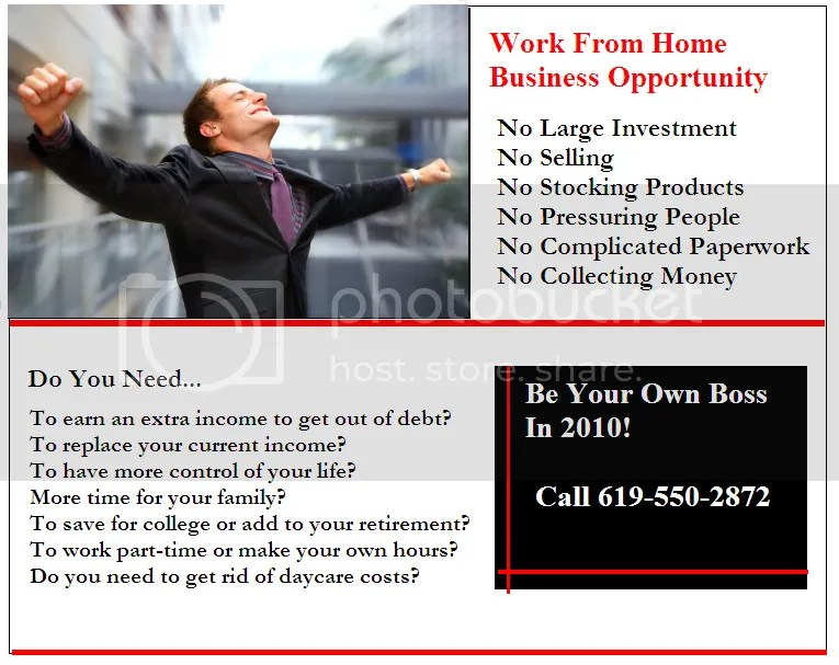 from home business