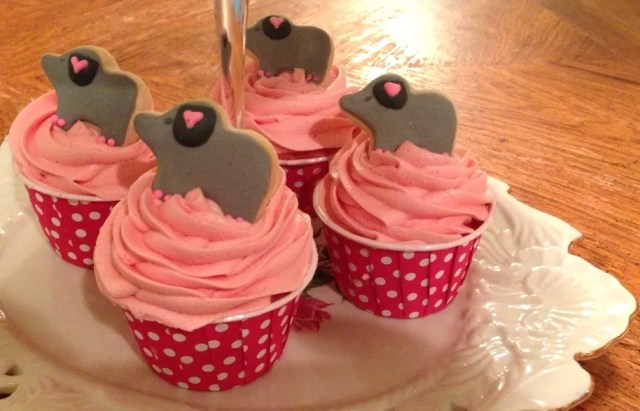 Bubblegum Cupcakes perfect for kids birthday parties! #cupcakes #food #bubblegum