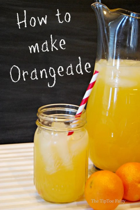 Orangeade from The TipToe Fairy