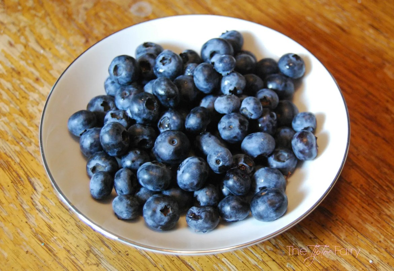 Blueberry Cheesecake Squares | The TipToe Fairy
