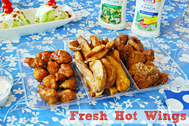 Fresh Hot Wings @ the Walmart Deli | The TipToe Fairy #GameTimeHero #CollectiveBias #ad