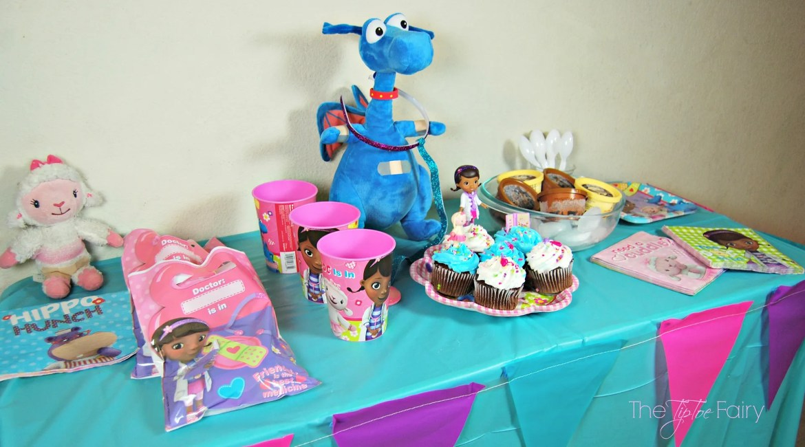 Doc McStuffins Birthday Ideas | The TipToe Fairy #JuniorCelebrates #CollectiveBias #shop #disney #docmcstuffins #birthdayideas