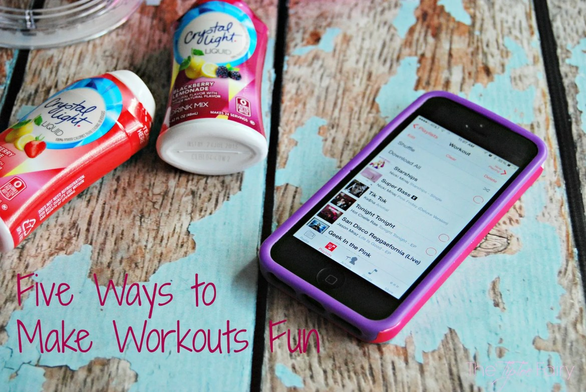 FIVE Ways to make Workouts Fun | The TipToe Fairy #PlatinumPoints #Shop #CollectiveBias #lowcalorie #workoutideas