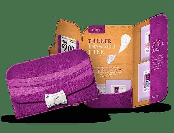 Poise Liner Sample Kit #sp #