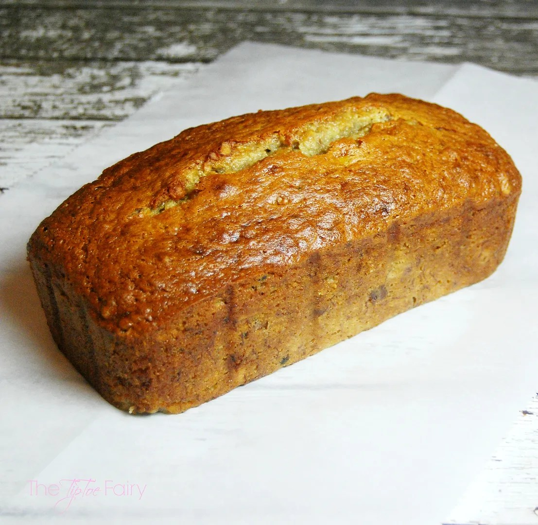 The EASIEST and most delicious Banana Bread you'll ever make -- with a secret ingredient -- Miracle Whip! | The TipToe Fairy #TasteTheMiracle #ad