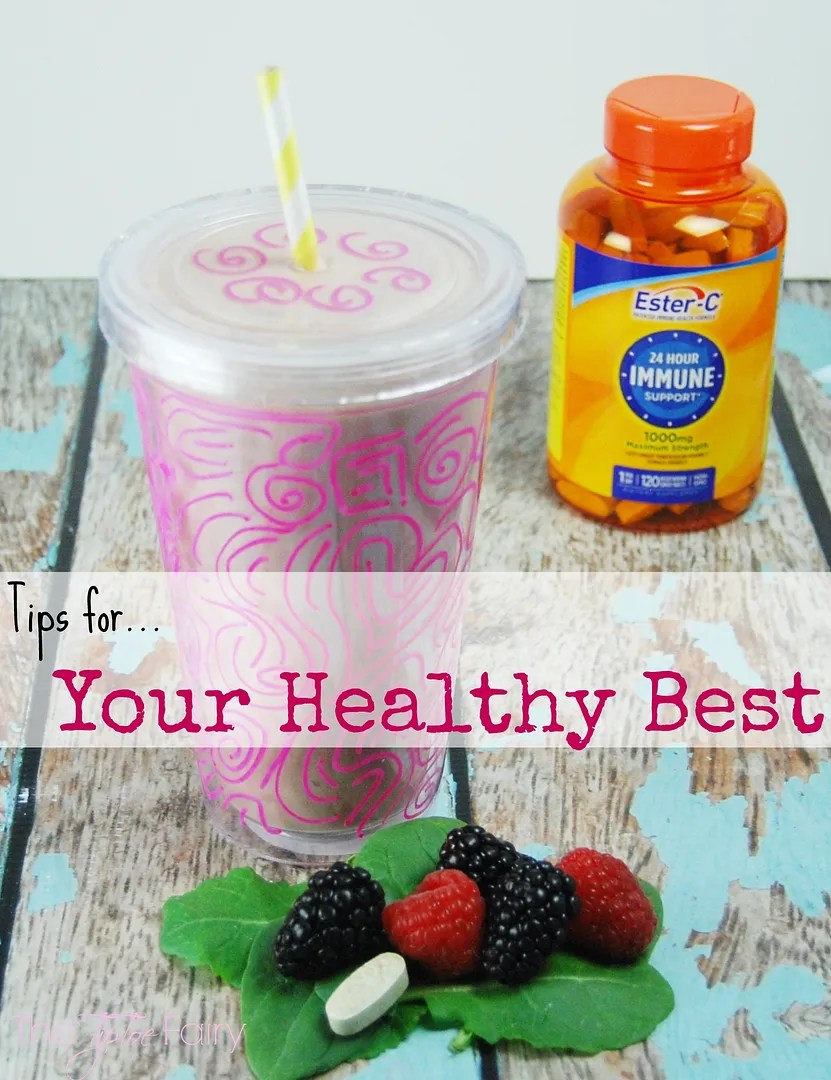 Check out my Superfoods Smoothie! Being a mom is a 24/7 job that needs 24/7 immune support. That's why I use @OfficialEsterC!*   The TipToe Fairy #24HourEsterC #ad